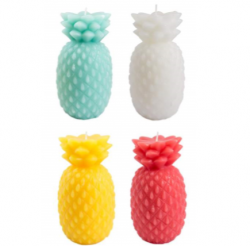 Candle Pineapple | Set of 4