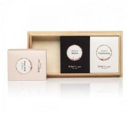Essbare Weingummis | Trio Rosé, Merlot & Chardonnay auf Holz + Gratisgeschenk