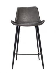 Counter Stool Hype Vintage Artificial Leather | Grey