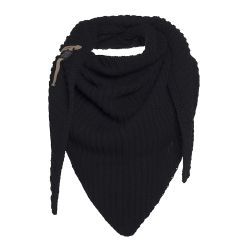 Knitted Scarf Demy | Black