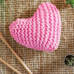 Coussin Happy DIY Kit | Bubblegum