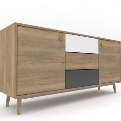 Low Cabinet Oak 01 | 4