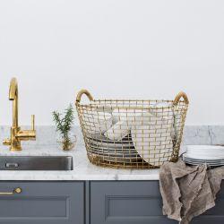 Classic 35 Basket | Brass