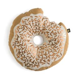 Cushion | Metallic Sprinkle Donut