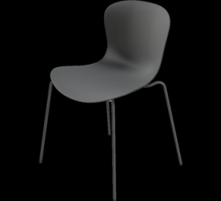 Chair NAP kS50 | Pepper Grey