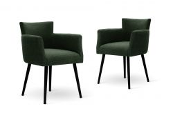 Armchair Billie Set of 2 | Green