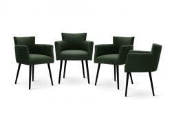 Chaises Billie Set de 4 | Vert