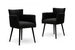 Chaises Billie Set de 2 | Noir