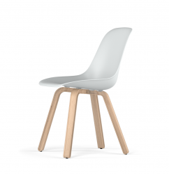 Chaise U Base V9 Side | Chêne Naturel