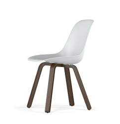 U Base V9 Side Chair | Stained Oak Walnut