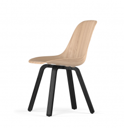U Base W9 Side Chair | Natural Oak
