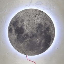 Moon Muurlamp