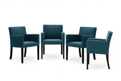 Set of 4 Armchairs Escape | Turquoise