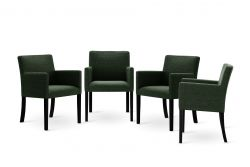 Armchair Escape Set of 4 | Green