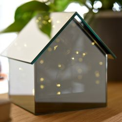 Glass Table Lamp House