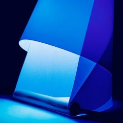 Furoshiki Table Lamp Blue