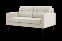 2 Seater Sofa Beaver | Cream