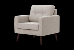 1 Seater Sofa Beaver | Beige
