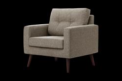 1 Seater Sofa Beaver | Taupe