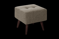 Pouf Beaver | Taupe