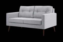 2 Seater Sofa Beaver | Light Grey