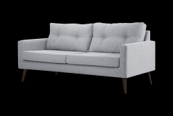 3 Seater Sofa Beaver | Light Grey