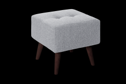 Pouf Beaver | Light Grey
