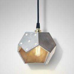 Ceiling Lamp Basic Twelve Solo | Concrete