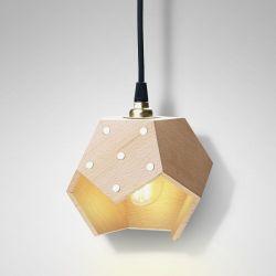 Ceiling Lamp Basic Twelve Solo | Wood
