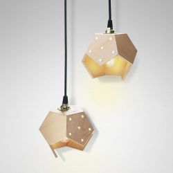 Ceiling Lamp Basic Twelve Duo | Wood