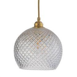 Hanglamp Rowan Ø 22 | Kleine Ruiten/Goud