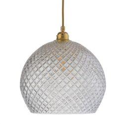 Hanglamp Rowan Ø 28 | Kleine Ruitjes/Goud
