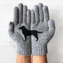 Handschuhe Labrador | Grau