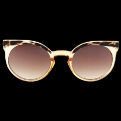 Sunglasses Lady in Satin | Beige/Tortoise