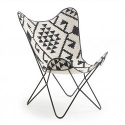 Lounge Chair | Graphic Black & White