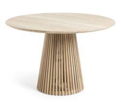 IRUNE Tisch Ø120 Teakholz natur