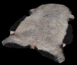 Icelandic Lambskin Shorn Mixed