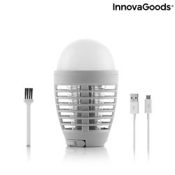 Anti-Mosquito Lamp KL Bulb Rechargeable 2-in-1 | Grey
