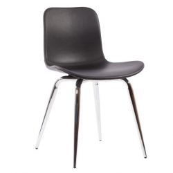 Dining Chair Langue Avantgarde Plastic | Black Frame