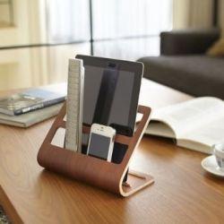 Tablet-Fernbedienungs-Halter Rin | Braun