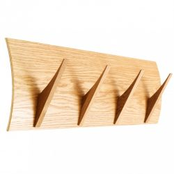 Coat Hook Naki 4 Hooks | Oak