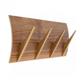 Coat Hook Naki 4 Hooks | Walnut