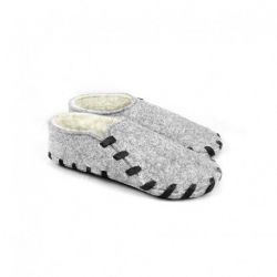 Lasso Shoes Furry | Black