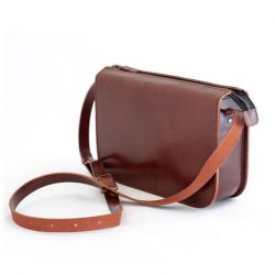 Handbag Big LAURA | Brown