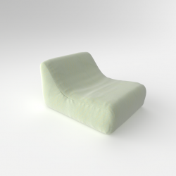 Inflatable Lazy Chair with Free Rechargeable Pump | Mint