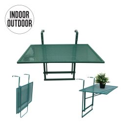 Foldable Balcony Table | Green