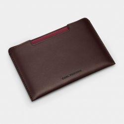 Housse de Passeport Cuir Easton | Chocolat