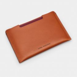 Passport Sleeve Easton | Cognac