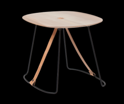Table d'Appoint Sierra | Cuir & Madera