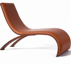 Wave Chair Leder
